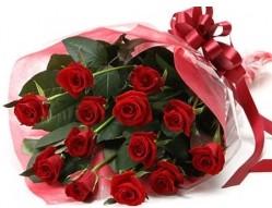 Tekirdağ çiçek online çiçek siparişi  10 adet kipkirmizi güllerden buket tanzimi