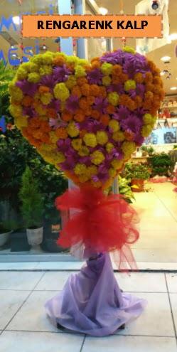 Ankara mevsim çiçeklerinden kalp perförje  Tekirdağ çiçek , çiçekçi , çiçekçilik