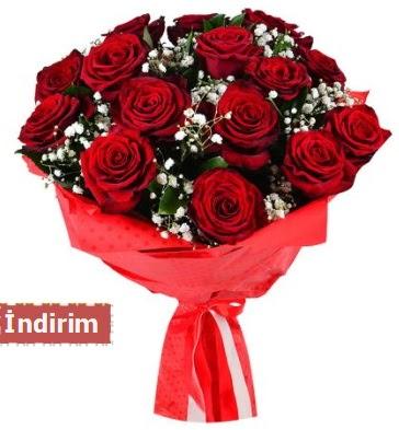 12 Adet kırmızı aşk gülleri  Tekirdağ ucuz çiçek gönder