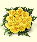 Tekirdağ 14 şubat sevgililer günü çiçek  12 adet sarigül kalite buket