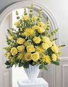 Tekirdağ çiçekçiler  sari güllerden sebboy tanzim çiçek siparisi