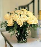 Tekirdağ çiçekçiler  11 adet sari gül mika yada cam vazo tanzim