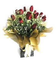 Tekirdağ online çiçek gönderme sipariş  11 adet kirmizi gül  buketi