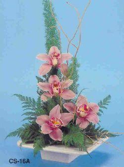 Tekirdağ çiçek , çiçekçi , çiçekçilik  vazoda 4 adet orkide