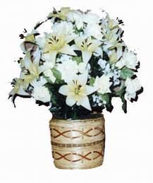yapay karisik çiçek sepeti   Tekirdağ güvenli kaliteli hızlı çiçek