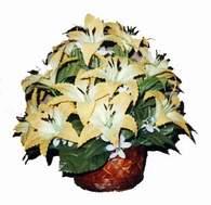 yapay karisik çiçek sepeti   Tekirdağ çiçekçiler