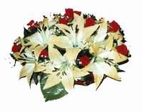 yapay karisik çiçek sepeti   Tekirdağ online çiçek gönderme sipariş