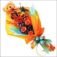 ayicik gül ve kir çiçekleri   Tekirdağ internetten çiçek satışı