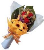 güller ve gerbera çiçekleri   Tekirdağ çiçek gönderme