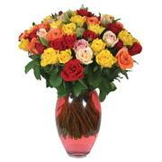 51 adet gül ve kaliteli vazo   Tekirdağ çiçek gönderme
