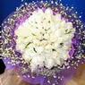 71 adet beyaz gül buketi   Tekirdağ hediye çiçek yolla