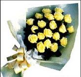 sari güllerden sade buket  Tekirdağ hediye çiçek yolla