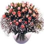 büyük cam fanusta güller   Tekirdağ çiçekçi telefonları