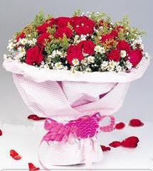 Tekirdağ internetten çiçek siparişi  12 ADET KIRMIZI GÜL BUKETI