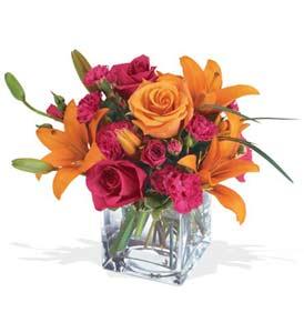 Tekirdağ güvenli kaliteli hızlı çiçek  cam içerisinde kir çiçekleri demeti