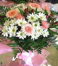 Tekirdağ çiçek siparişi sitesi  karma büyük ve gösterisli mevsim demeti