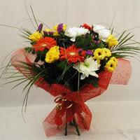 Tekirdağ çiçek siparişi sitesi  Karisik mevsim demeti