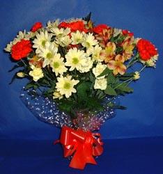 Tekirdağ çiçek siparişi sitesi  kir çiçekleri buketi mevsim demeti halinde