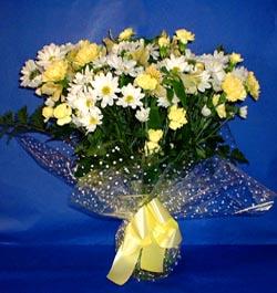 Tekirdağ çiçek siparişi sitesi  sade mevsim demeti buketi sade ve özel