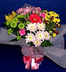 Tekirdağ çiçek siparişi sitesi  küçük karisik mevsim demeti