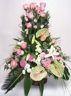 Tekirdağ çiçekçi mağazası  özel üstü süper aranjman