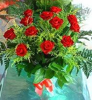 12 adet gül buketi  Tekirdağ çiçek online çiçek siparişi