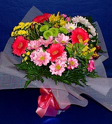 karisik sade mevsim demetligi   Tekirdağ hediye sevgilime hediye çiçek