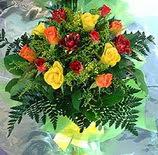 13 adet karisik gül buketi demeti   Tekirdağ anneler günü çiçek yolla