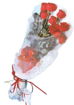 11 adet kirmizi güller buket tanzimi   Tekirdağ çiçekçiler