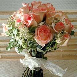 12 adet sonya gül buketi    Tekirdağ çiçek satışı