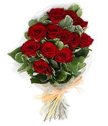 Tekirdağ çiçek gönderme sitemiz güvenlidir  9 lu kirmizi gül buketi.