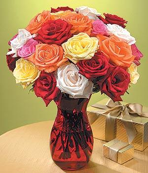 Tekirdağ çiçek online çiçek siparişi  13 adet renkli gül