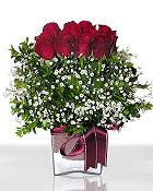 Tekirdağ hediye çiçek yolla  11 adet gül mika yada cam - anneler günü seçimi -