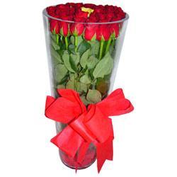 Tekirdağ çiçek mağazası , çiçekçi adresleri  12 adet kirmizi gül cam yada mika vazo tanzim