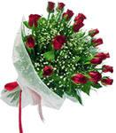 Tekirdağ internetten çiçek siparişi  11 adet kirmizi gül buketi sade ve hos sevenler