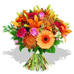 Tekirdağ çiçek , çiçekçi , çiçekçilik  Karisik kir çiçeklerinden görsel demet
