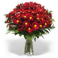 Tekirdağ çiçekçi telefonları  Kir çiçekleri cam yada mika vazo içinde