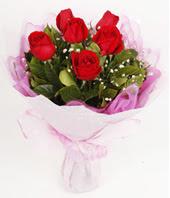 9 adet kaliteli görsel kirmizi gül  Tekirdağ çiçek satışı
