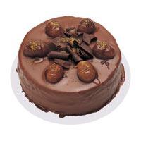 Kestaneli çikolatali yas pasta  Tekirdağ hediye çiçek yolla