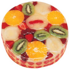 Meyvali 4 ile 6 kisilik yas pasta leziz  Tekirdağ çiçek siparişi sitesi