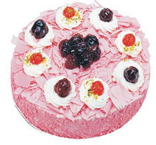 Sahane Tat yas pasta frambogazli yas pasta  Tekirdağ çiçek gönderme