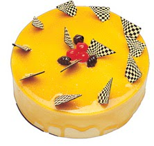 Karemelli yas pasta 4 ile 6 kisilik  leziz  Tekirdağ cicek , cicekci