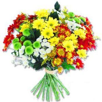Kir çiçeklerinden buket modeli  Tekirdağ cicekciler , cicek siparisi