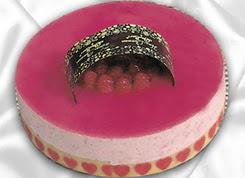 pasta siparisi 4 ile 6 kisilik yas pasta framboaz yaspasta  Tekirdağ online çiçekçi , çiçek siparişi