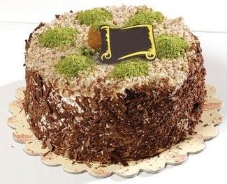 pasta gönderme 4 ile 6 kisilik çikolatali yas pasta  Tekirdağ ucuz çiçek gönder