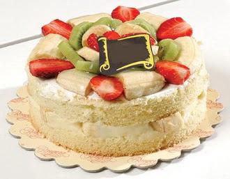 pasta siparisi 4 ile 6 kisilik karisik meyvali yas pasta  Tekirdağ kaliteli taze ve ucuz çiçekler