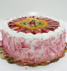 görsel pastacilar 4 ile 6 kisilik yas pasta karisik meyvali  Tekirdağ çiçek mağazası , çiçekçi adresleri