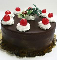 4 ile 6 kisilik yas pasta çikolatali taze pastaci  Tekirdağ çiçek online çiçek siparişi