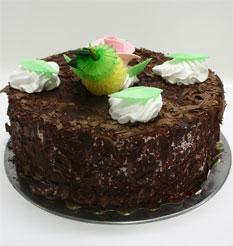 4 ile 6 kisilik yas pasta çikolatali leziz pastane ürünü  Tekirdağ 14 şubat sevgililer günü çiçek