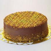 sanatsal pastaci 4 ile 6 kisilik krokan çikolatali yas pasta  Tekirdağ uluslararası çiçek gönderme